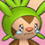 Pmd Chespin icon (tearing) by Charly-sparks