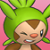 Pmd Chespin icon (hurt) by Charly-sparks