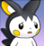 pmd Emolga icon (worried)