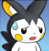 pmd Emolga icon (sorry) by Charly-sparks