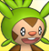 Pmd Chespin icon (shiny eyes) by Charly-sparks