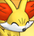 Pmd Fennekin icon (smiling) by Charly-sparks