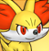 Pmd Fennekin icon (determined) by Charly-sparks