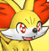 Pmd Fennekin icon (shiny eyes)