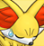 Pmd Fennekin icon (sigh/tired) by Charly-sparks
