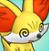 Pmd Fennekin icon (dizzy) by Charly-sparks