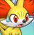 Pmd Fennekin icon (shocked)