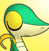 PMD snivy icon (phew) by Charly-sparks