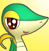 PMD snivy icon (shiny eyes) by Charly-sparks