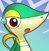 PMD snivy icon (shocked) by Charly-sparks