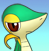 PMD snivy icon (leaning its head) by Charly-sparks