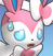 PMD sylveon icon (tired)