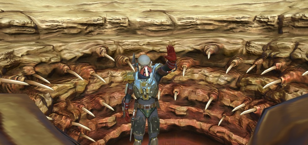Boba Fett and the Sarlacc Pit by migsubishi on DeviantArt