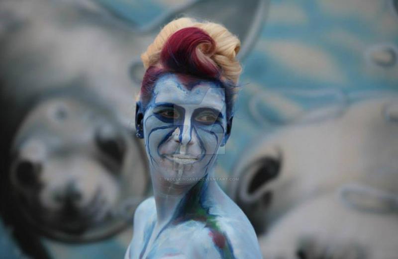 Wesen aus der Tiefe by TrollkingArt