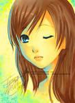 Behind blue eyes by mibou