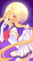 Moon by mibou