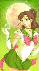 Protectress of Moon: JUPITER by mibou