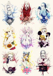 The Fame - Monster by mibou