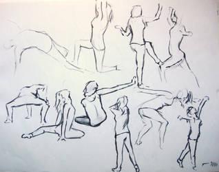 Dancing Gestures 1 by KitsuneSam