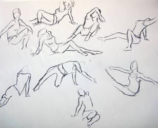 Dancing Gestures 2 by KitsuneSam