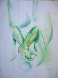 Abstract Greens by KitsuneSam