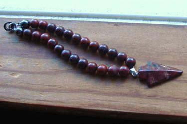 Jasper Beads by KitsuneSam
