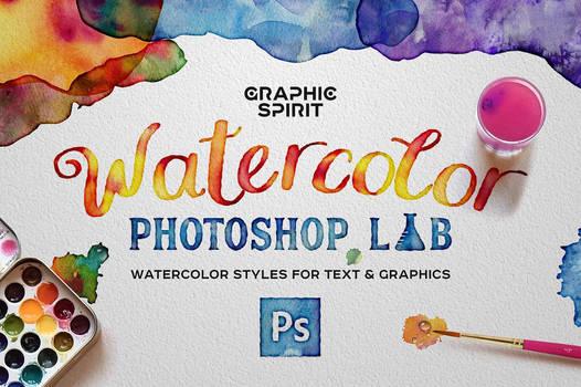 Watercolor PHOTOSHOP Lab