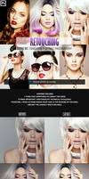Retouching One Click Photoshop Action