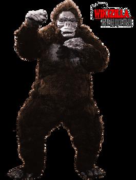 King Kong 1962 Render by Wikizilla