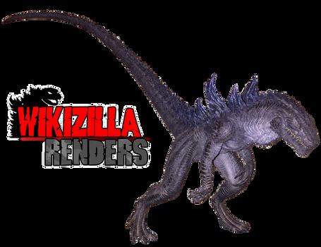 Godzilla 1998 Maquette Render