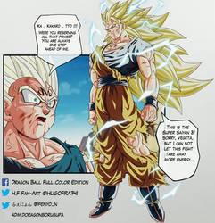 SSJ3 Goku VS Majin Vegeta