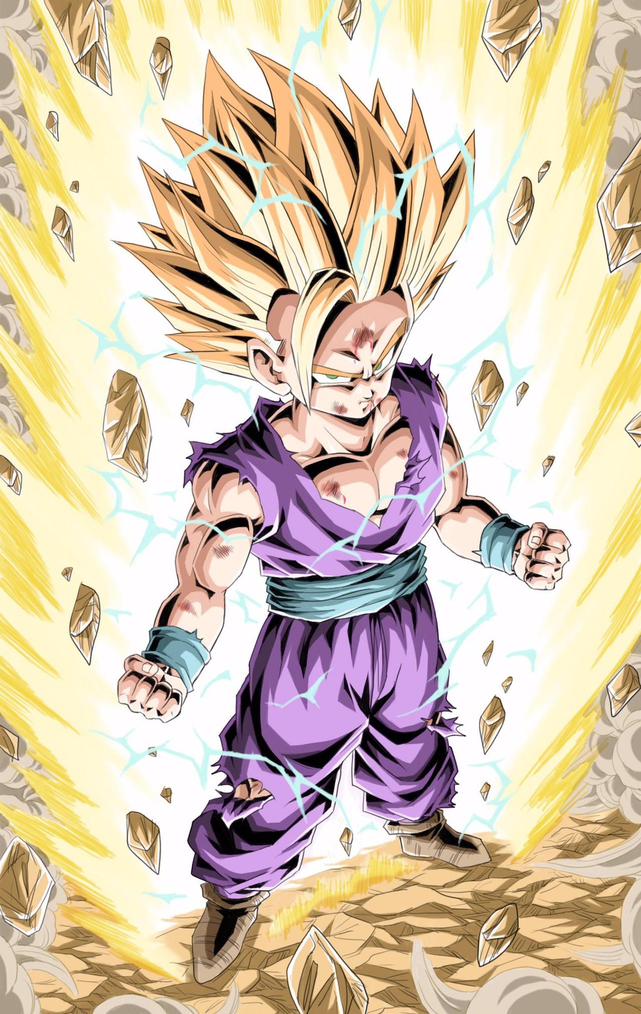 The Power of Super Saiyan 2- Teen Gohan