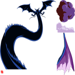 Dark Shenron cuitn render [Dokkan Battle] 4