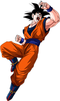 Goku (Potara earring) Render 2