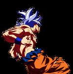 Mastered Ultra Instinct Goku Dokkan Render 5