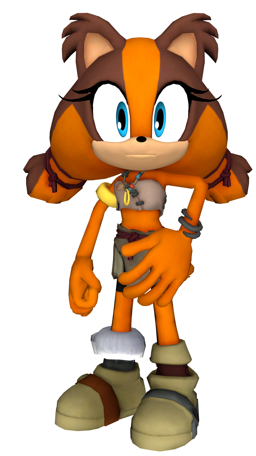 sticks the badger render by detexki99 on deviantart