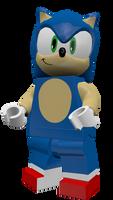 LEGO Sonic Render