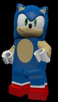 LEGO Sonic V2 Render