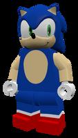 LEGO Sonic V3 Render