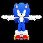 Sonic Forces: Speed Battle - Sonic Model