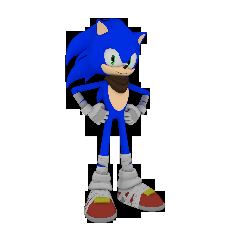 Sonic Boom Sonic Render By Detexki99 On Deviantart