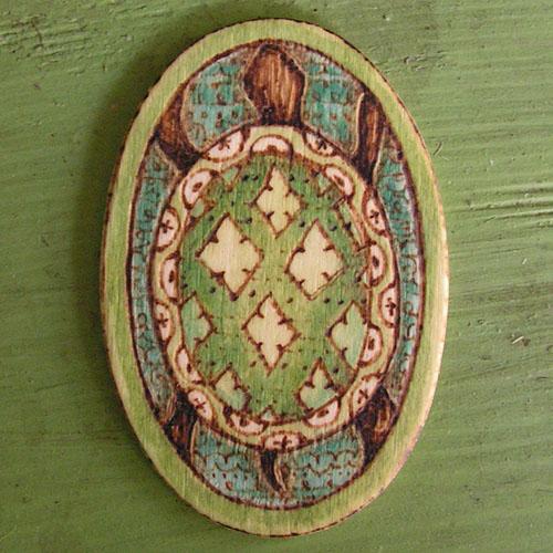 Oval Turtle by ltlartgirl