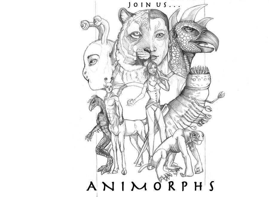 Animorphs Fanart by SpottedSnowCat