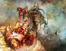I am Batman by jaggudada