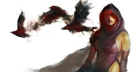 Raven by jaggudada