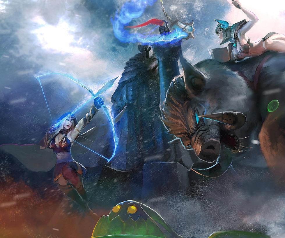 League Of Legends Freljord