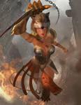 Lyssa - Godess of Madness