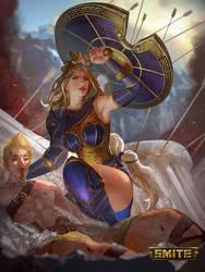 Smite - Athena - Golden Skin