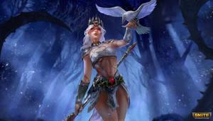 The Morrigan - Pale Raven - Smite