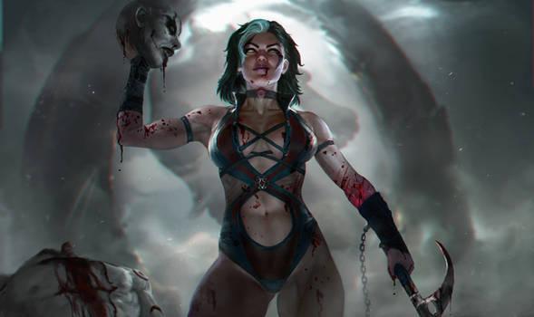 Sareena - Mortal kombat
